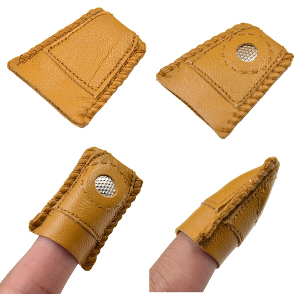 leatherthimble, fingerpad, Computers, Quilting