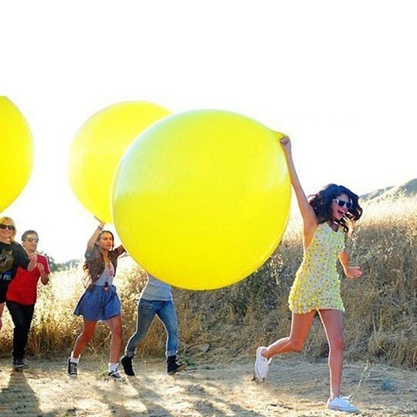 36inch Transparent Balloons Party Supplies Bouquets Games Festival Birthday Wedding Giant Large Big Latex Balloons