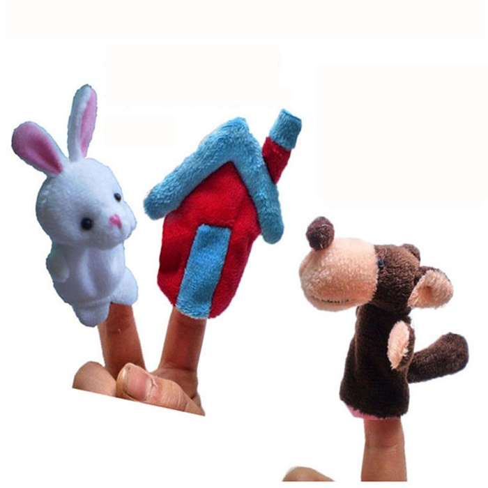 baby kinder kind pl sch spiel lernen story familie finger tier handpuppe toy ebay. Black Bedroom Furniture Sets. Home Design Ideas
