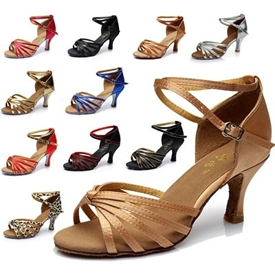Picture of Women's Ballroom Tango Salsa Latin Dance Shoes 7cm Heel