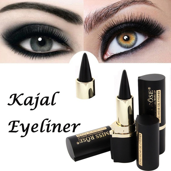 Picture of Miss Rose Brand Maquiagem Makeup Eyes Pencil Longwear Black Gel Eye Liner Stickers Eyeliner Wateroroof Make Up Color Black