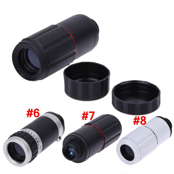 Universal 8X Zoom Optical Clip Telephoto Telescope Lens Mobile Cell Phone NEW