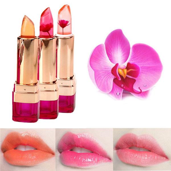 Picture of Magic Jelly Flower Lipstick Color Temperature Change Moisturizer Bright Lip Balm