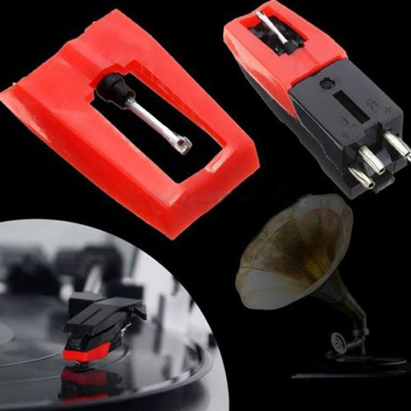 new Ceramic Cartridge Turntable Phono with Stylus for LP Vinyl Record Player U