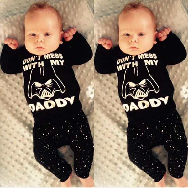 Baffle Im The Princess//Princess Baby Girl Outfit Star Wars Inspired Clothing