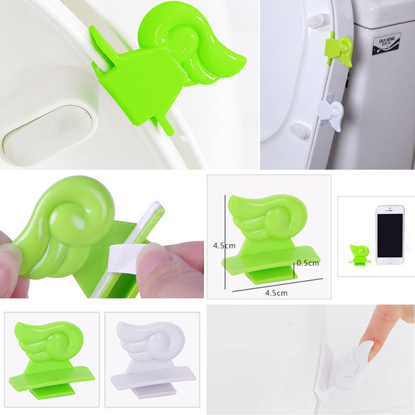 Wish | Toilet Seat Lift Handle Cover Lifter Portable Sanitary Diy ...