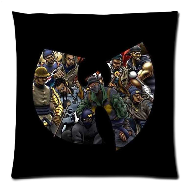 Outstanding 18X18 Square Wu Tang Clan Polyester Cushion Cover Sofa Decorative Throw Pillowcase Home Chair Car Seat Pillow Case Creativecarmelina Interior Chair Design Creativecarmelinacom
