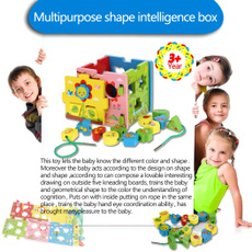 Box, Baby Toy, Wooden, Educational Toy