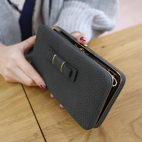 Picture of Purse Wallet Female Famous Brand Card Holders Cellphone Pocket Gifts For Women Money Bag Clutch