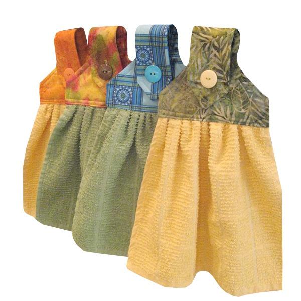 Wish   Hanging Dish Towel Pattern, Dish Towel PDF Pattern, Tea Towel ...