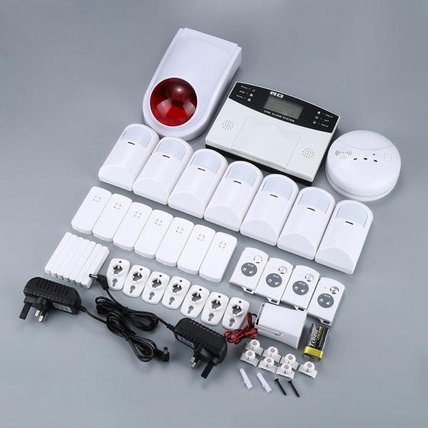 Picture of Wireless Gsm Home Burglar Security Alarm System Detector Sensor Call Uk Plug