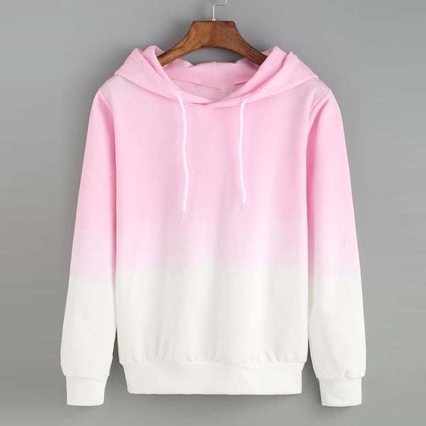 pink, gradientcolor, Fleece, Fashion