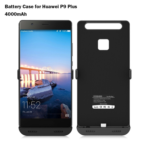 4000mAh Backup Battery Charger Case for Huawei P9 Plus
