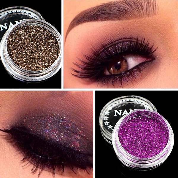 Picture of Nani Pro Eye Shadow Make Up Pigment Makeup Loose Powder Glitter Eyeshadow
