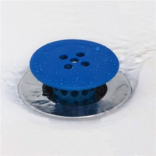 Bath Shower Silicone Floor Drain Cover Strainer Home Supplies 1 Pc Kitchen Basin Sink Hair Plug Toilet Water Drains Plug