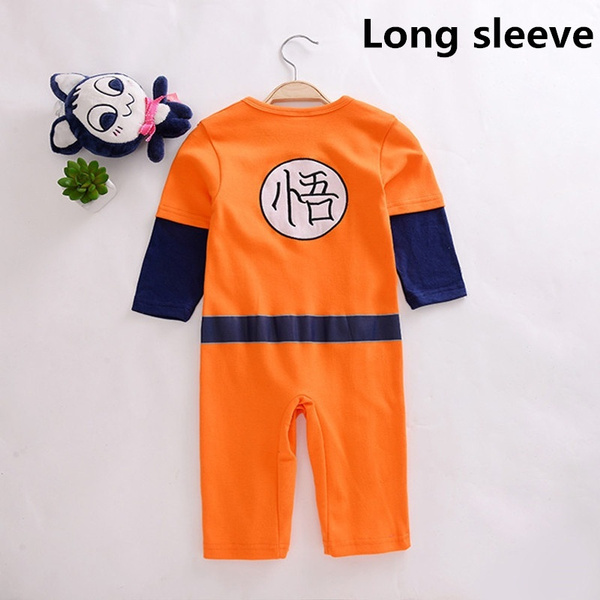Wish | Fashion Baby Dragon Ball Goku Baby Costume Newborn Infant Boy Clothes Romper Bodysuit Outfits : infant goku costume  - Germanpascual.Com