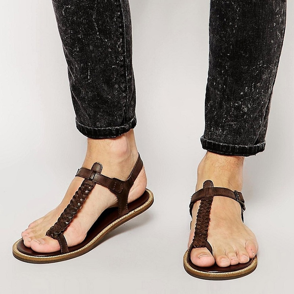 Picture of Man Fashion Casual Flat Sandal In Summer