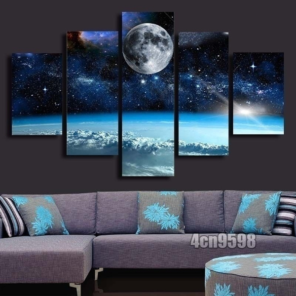 canvasart, Wall Art, canvaspainting, moonpainting