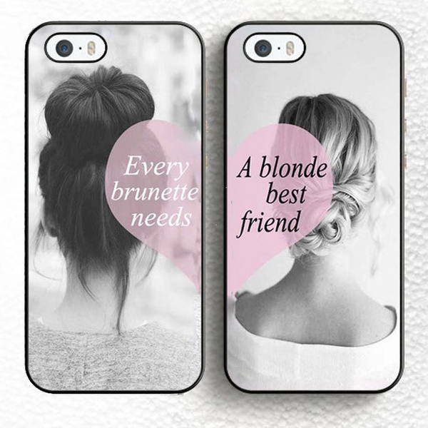 buy online d364c 52f32 Every Brunette Needs A Blonde Best Friend Pair cell phone cases cover for  Samsung Galaxy J3 2016 case
