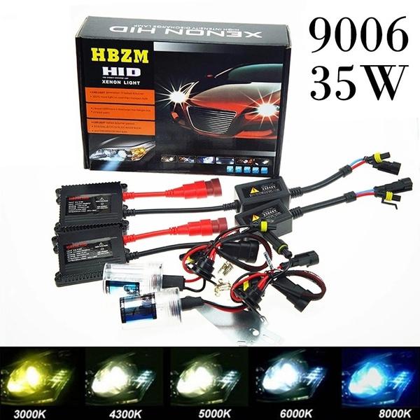 35w 9006 Hid Xenon Lights Kit Bulbs Ballast Car Auto Conversion Lamp