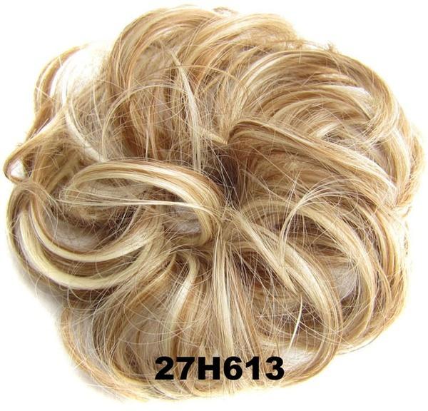 Geek Ladies Pony Tail Hair Extension Bun Hairpiece Scrunchie