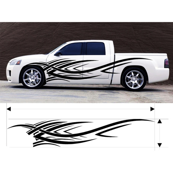 "VINYL GRAPHICS DECAL STICKER CAR BOAT AUTO TRUCK 100/"" MT-152-Y"