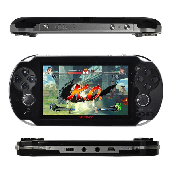 Wish | Video Game Console 4GB Free 2000 games 4.3 inch MP5 Players