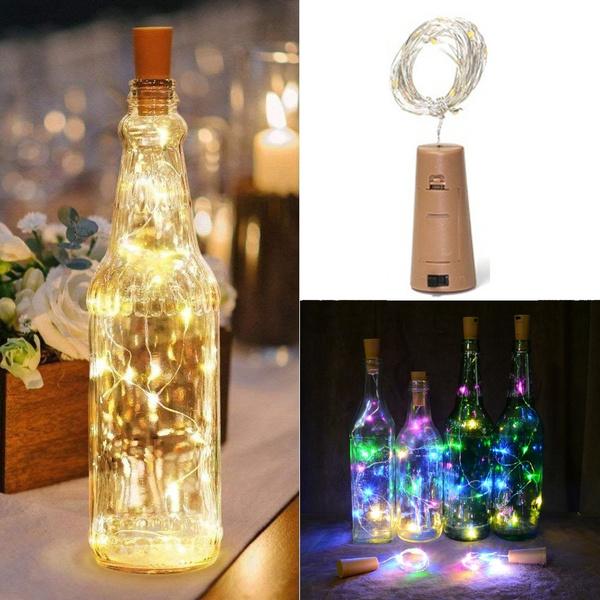 String Lights In Bottles : Led Bottle Stopper String Lights Christmas Decoration Lighting - Ozspecials.com
