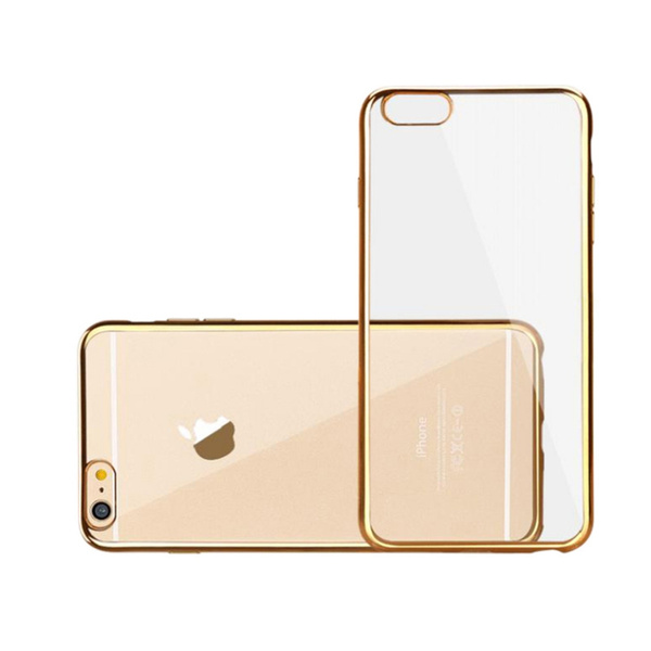 separation shoes 0b242 769d8 IPhone 7 IPhone 8 Cases Protect Electroplate TPU Silicone Flexible Soft  Full Body Protective Clear Case Cover for IPhone 6S Plus/iPhone 7/Apple ...