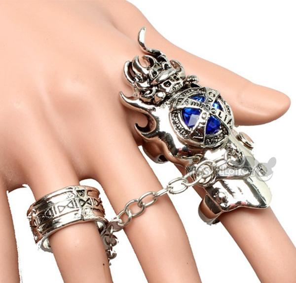 Fashion Jewelry Ring Katekyo Hitman Reborn Ring Anime Vongola