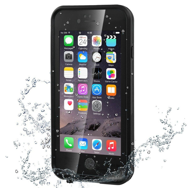 detailing 772a9 0da9a Bessmate iPhone 6s Waterproof Case Underwater Protection Shockproof  SnowProof DustProof Cover with Viewing Kickstand Fingerprint Recognition  Touch ID ...