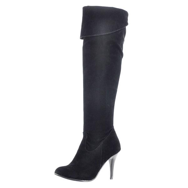 Wish Sexy Damen Schuhe Stiefeletten Overknee Stiefel High Heels