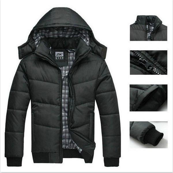 padded, slim, Winter, Coat