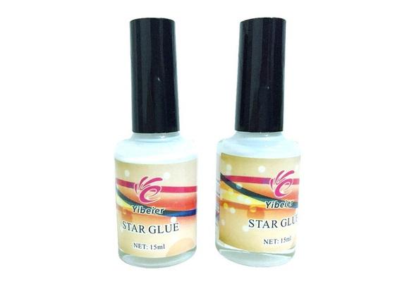 Pro Nail Art Glue for Foil Sticker Nail Transfer Tips Adhesive 15ml Star Nails (Size: 15 ml)