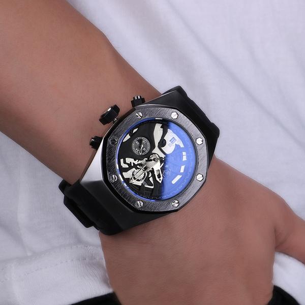Audemars Piguet Royal Oak Tourbillon Mechanical Hand Wind Mens Watch Certified Pre Owned