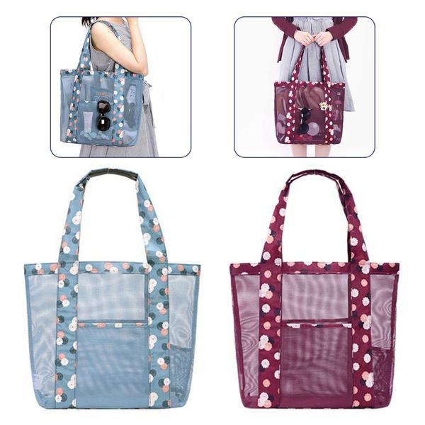 Picture of Fashion Women Candy Clear Transparent Handbag Shoulder Bags Beach Bag