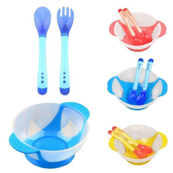 siliconebowl, Colorful, toddlerfeeding, dinnerwareset