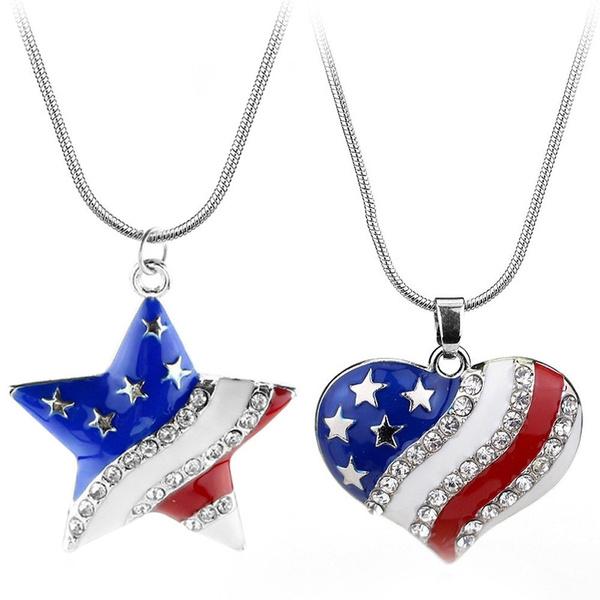 Chain Necklace, Fashion, Jewelry, Rhinestone