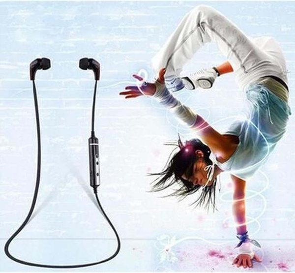 Picture of Freshzone Bluetooth Sport 4.1 Wireless Headphones Headset Sweatproof For Call Microphone