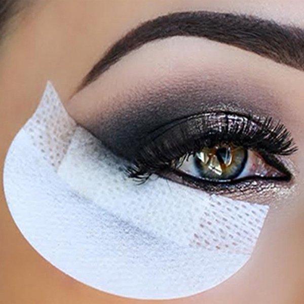 20 Pieces Eye shadow Shield for Eyeshadow Shields Protector Pads Eyes Lips Makeup Application Tool (Color: White)