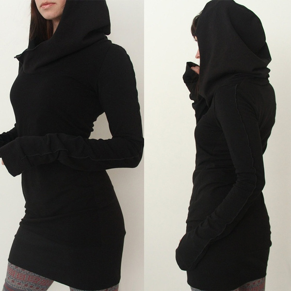 Mini, hooded, Fashion, Sleeve