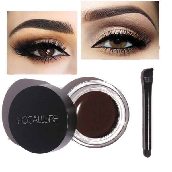 Picture of Womens Focallure Quick Dry Waterproof Sweat Stained Eyebrow Pens Artifact Lasting
