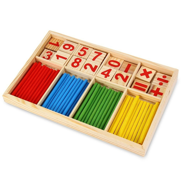 Maikun Montessori Mathematical Intelligence Stick Preschool Educational Toys