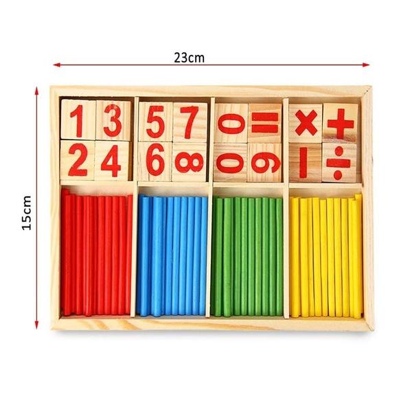 Maikun Montessori Mathematical Intelligence Stick Preschool Educational Toys