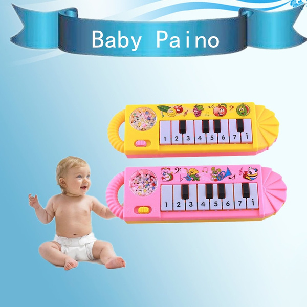 Musical Electronic Guitar Educational Toys Early Toddler For Baby Music Play