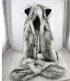 Fashion, fur, Mittens, animalhat