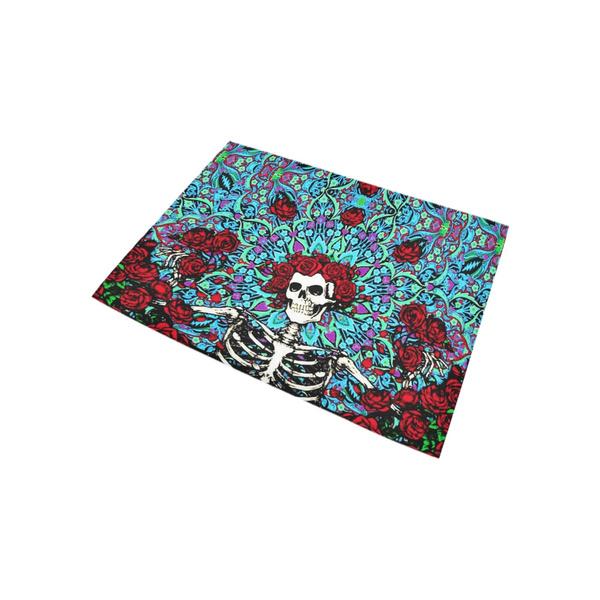 Wish Grateful Dead Custom 90 Polyester 10 Rayon Fiber Area Rugs 5 3 X 4