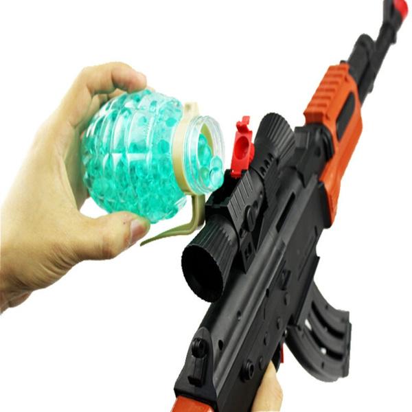 Wish | Soft Bullet Toy Gun Pistol AK 47 Gun Toys Classic Nerf Pistol  Children's toy guns Soft Bullet Gun plastic Revolver shooter