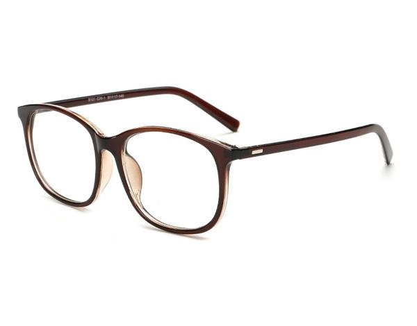 Wish | Korea Oversized Round Eyeglasses Frames Clear Lens Fake ...
