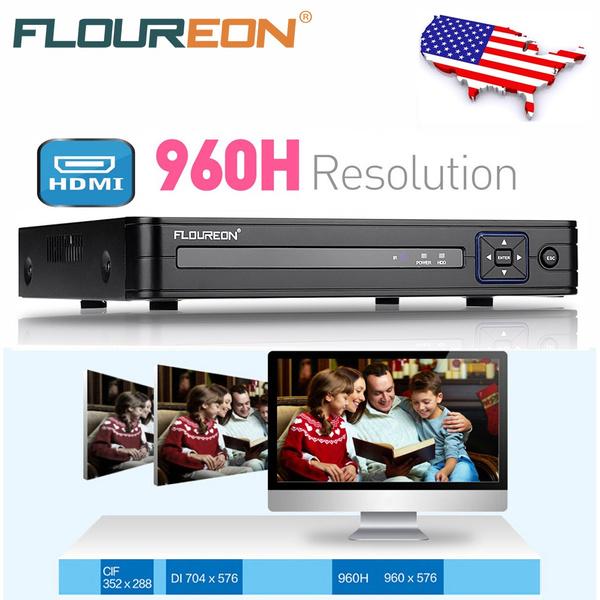 FLOUREON 8CH 960H H 264 CCTV Security Video Recorder Cloud DVR